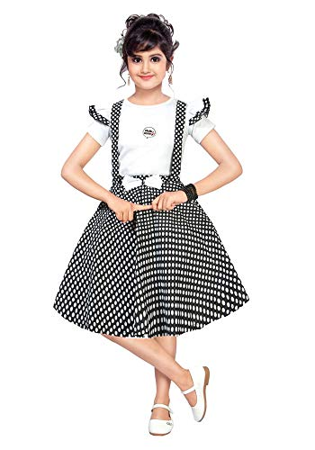 Chandrika Girls Pinafore Party Dress for Kids