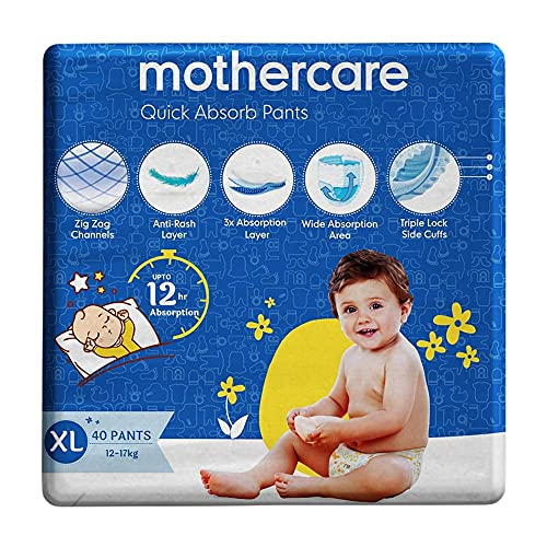 Mothercare Quick Absorb Diaper Pants,