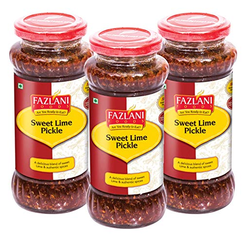 FAZLANI FOODS Instant Ready to Eat Sweet Lime Pickle