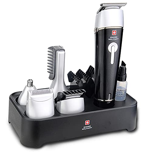 Swiss Military 5 in 1 Grooming Trimming Set