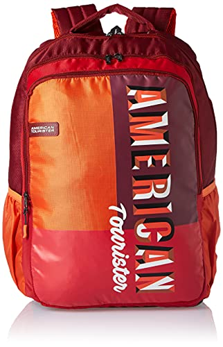 American Tourister Crone 34 Ltrs Red Casual Backpack